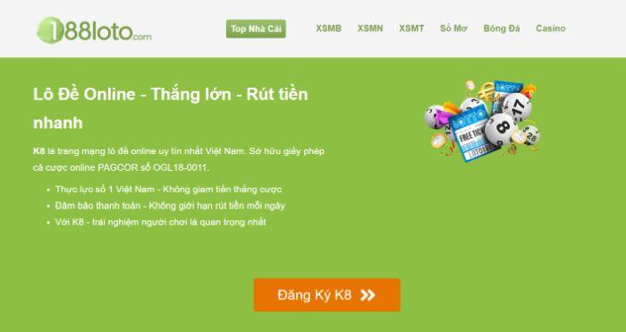188Loto hiện là một trong những trang web chuyên soi cầu lô đề lớn nhất tại Việt Nam
