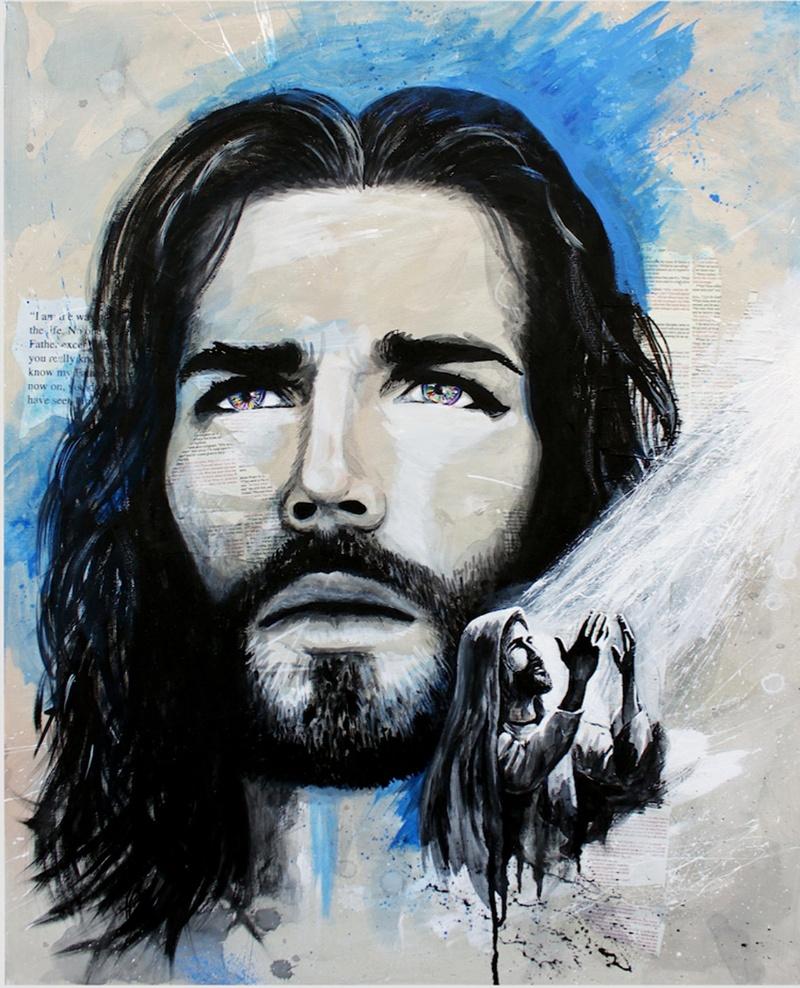 Mơ thấy người khác đang vẽ Chúa